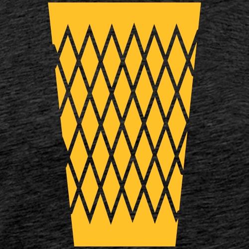 s'Gerippte - Apfelwein - Männer Premium T-Shirt