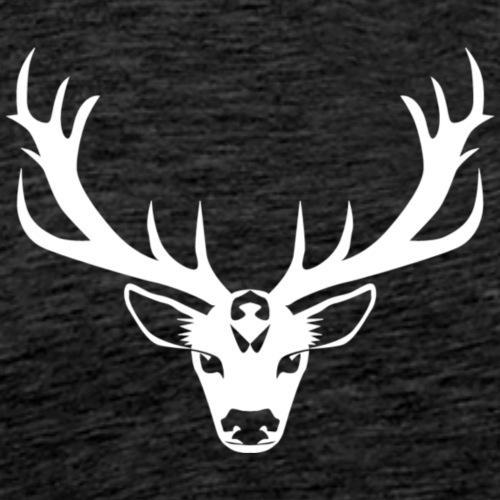 Hirsch Deer - Männer Premium T-Shirt