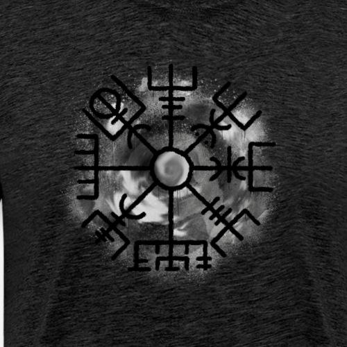Vegvisir Grey By TheRawburt - Premium-T-shirt herr