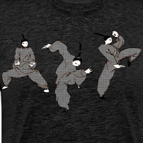 Kungbao - Martial Arts Kung Fu Kampfkunst Kombo - Men's Premium T-Shirt