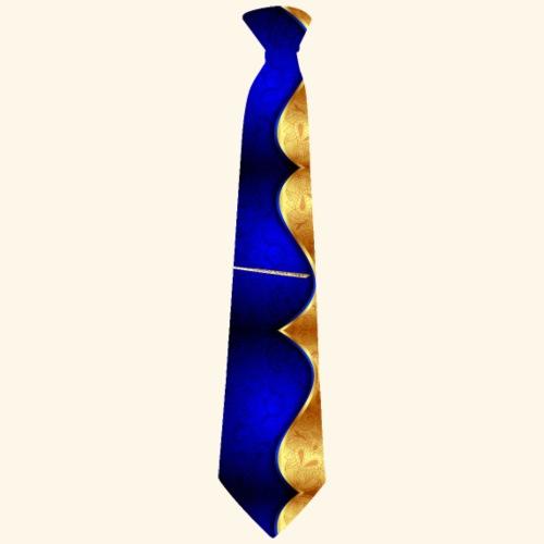 Krawatte 121 mit Goldnadel - Männer Premium T-Shirt