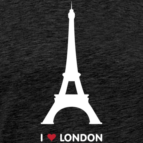 I love London - Mannen Premium T-shirt