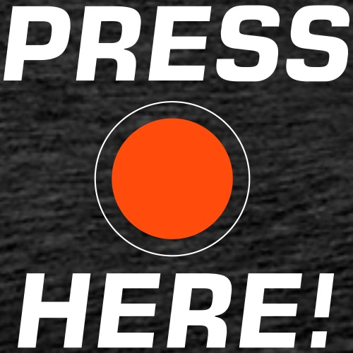 Press Here! - Men's Premium T-Shirt
