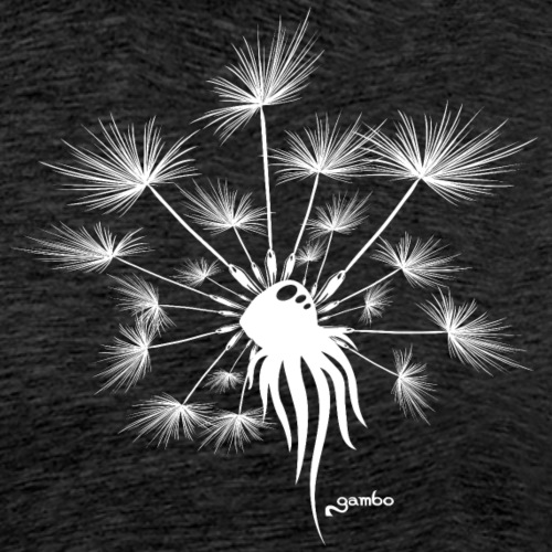 Pusteblume Design 6 - Männer Premium T-Shirt