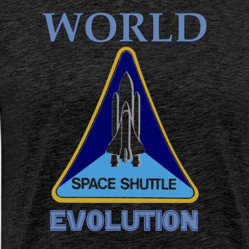 World evolution. - Camiseta premium hombre
