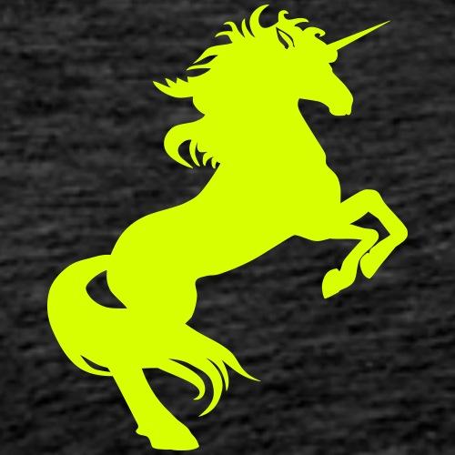 Einhhorn steigend kl - Männer Premium T-Shirt