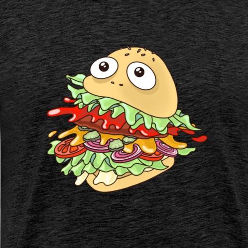 hungry burger // art.implied - Männer Premium T-Shirt