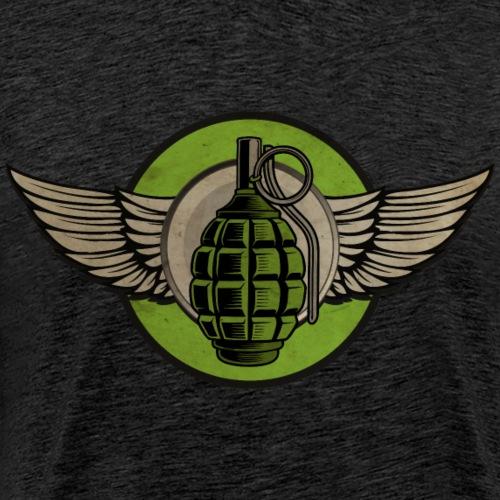 Grenade Ultimate Frisbee - Camiseta premium hombre