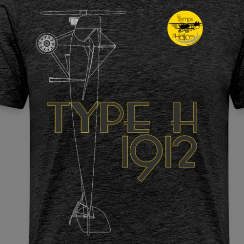 TDH19-PROFIL-MORANE TRANSP - T-shirt Premium Homme