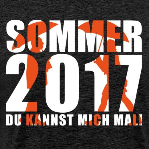 Sommer 2017   Du kannst mich mal!   Regen   Wetter - Männer Premium T-Shirt