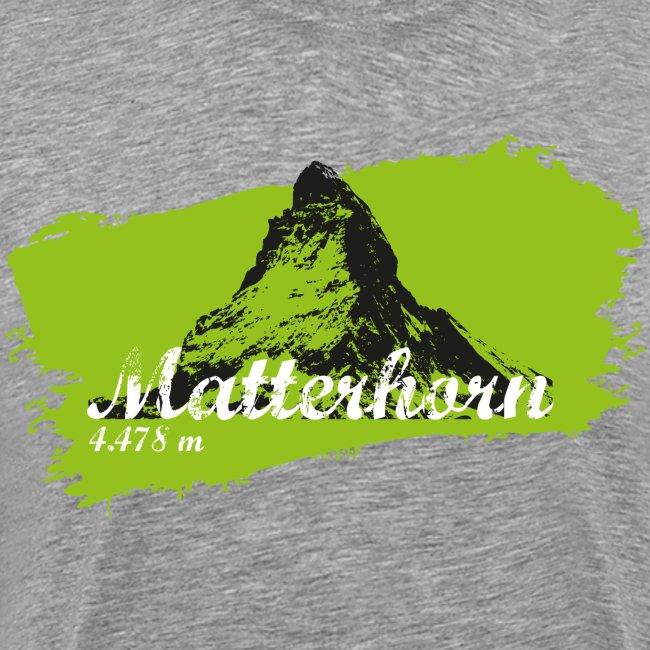 Matterhorn - Matterhorn in green