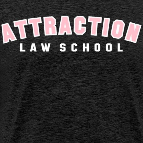 ATTRACTION LAW SCHOOL (PINK ON WHITE)