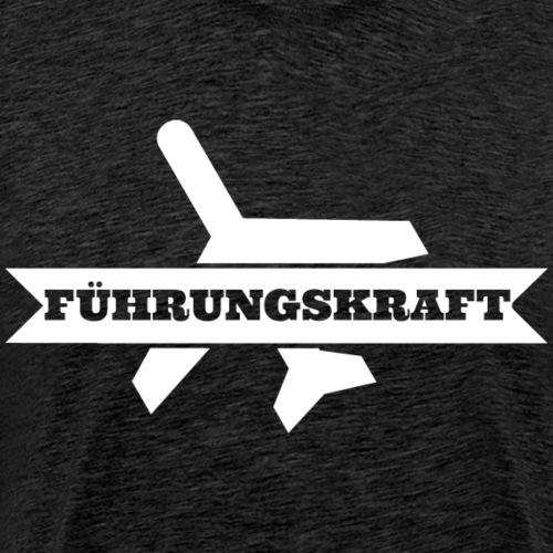 fuehrungskraft_flieger_w - Männer Premium T-Shirt