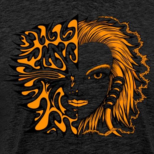 Die Natur von Sowa - Männer Premium T-Shirt