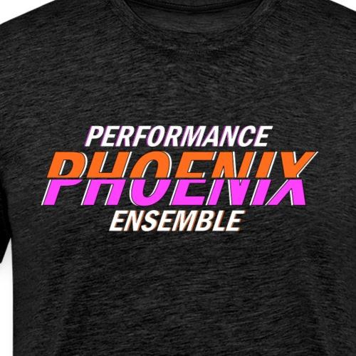 Phoenix Distorted Pink - Männer Premium T-Shirt