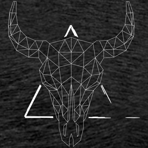 Geometrie Stier - Männer Premium T-Shirt