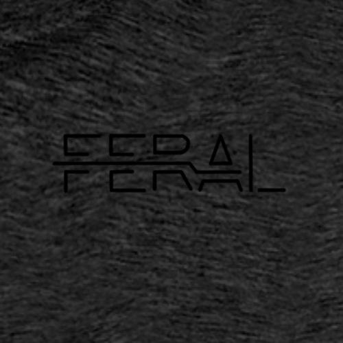 Black FERAL - T-shirt Premium Homme