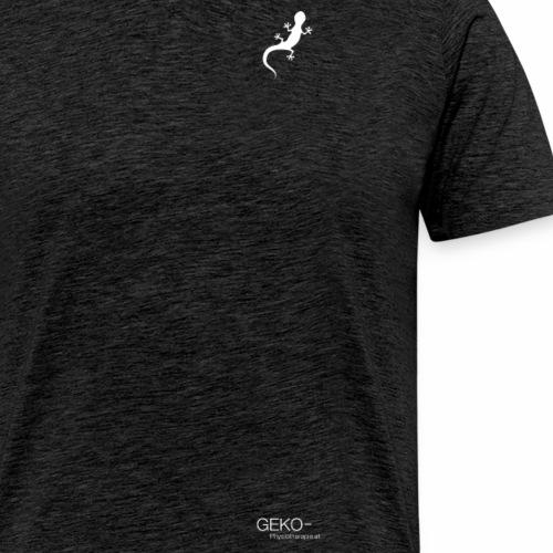 GEKO klein weiss - Männer Premium T-Shirt