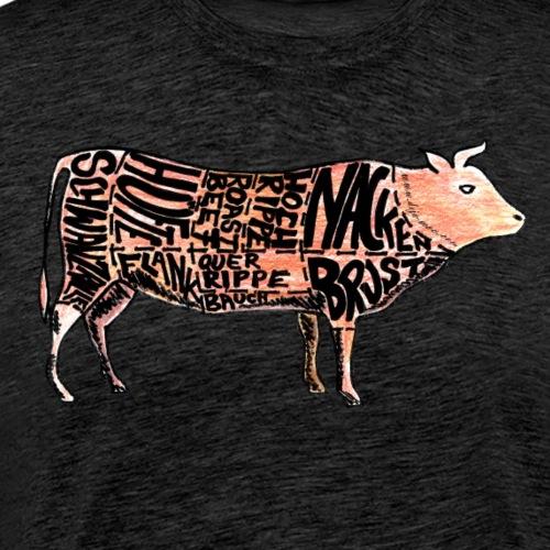 Die wichtigsten Beefcuts! - Männer Premium T-Shirt