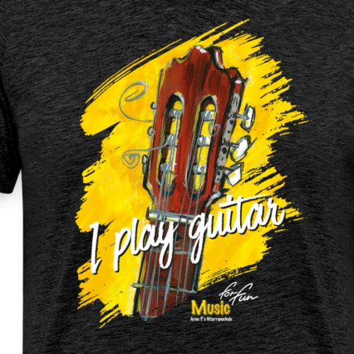 I play guitar - limited edition '19 - Männer Premium T-Shirt