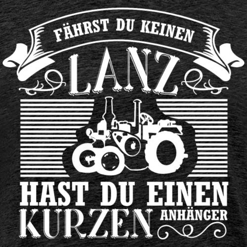 Lanz-Bulldog kurz - Männer Premium T-Shirt