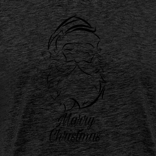 Marry Christmas Weinachtsmann - Männer Premium T-Shirt