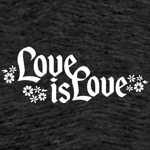Love is Love - Männer Premium T-Shirt