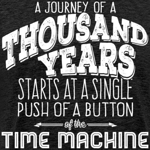 Journey of 1000 Years - white - Männer Premium T-Shirt