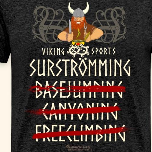 Surströmming Viking Sports - Männer Premium T-Shirt