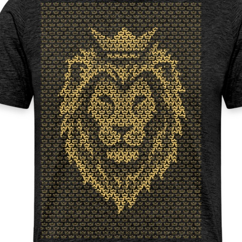 Lion Crown - Men's Premium T-Shirt