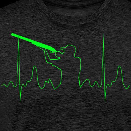 Clayshooting - Männer Premium T-Shirt