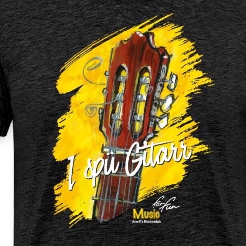 I spü Gitarr - limited edition '19 - Männer Premium T-Shirt