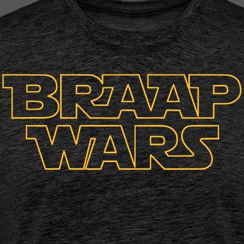 BRAAP WARS Front - Männer Premium T-Shirt