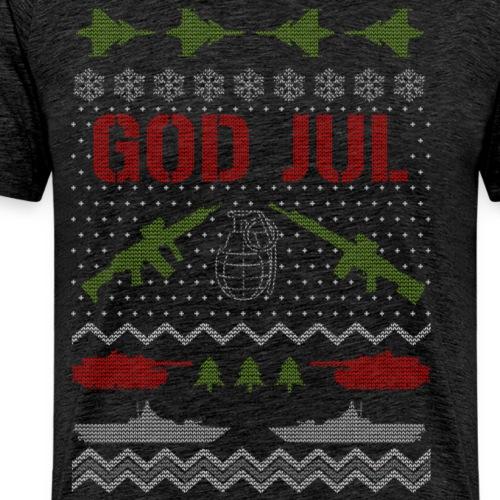 Ful jultröja - Ugly Christmas Sweater - Premium-T-shirt herr
