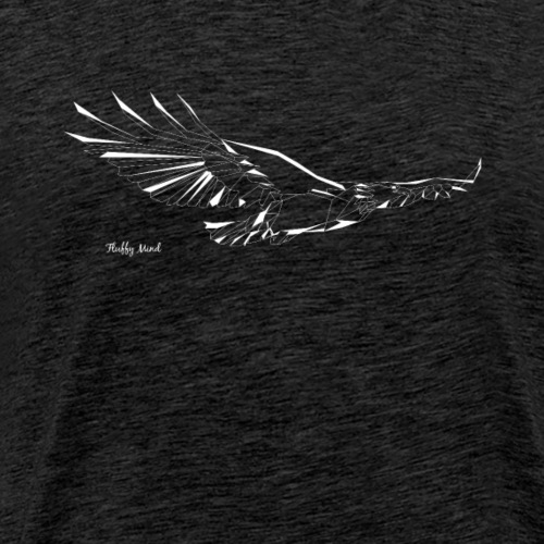 Aigle origami - T-shirt Premium Homme