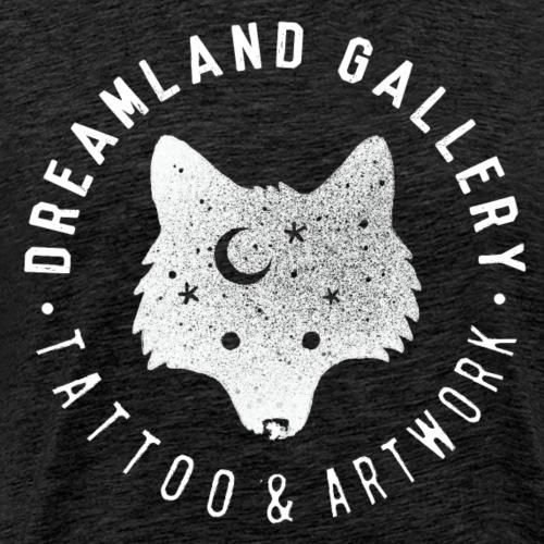 wolf stamp white - Männer Premium T-Shirt