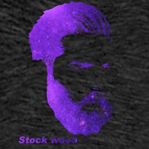 Stock wood - Mannen Premium T-shirt