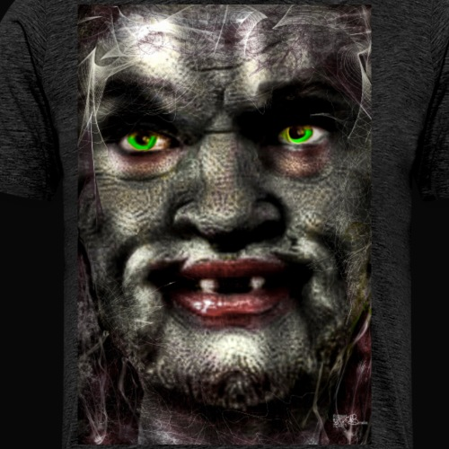 Troll Lester - Männer Premium T-Shirt