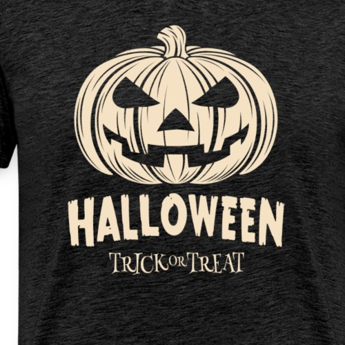 Kürbis Halloween Boo Geschenk - Männer Premium T-Shirt