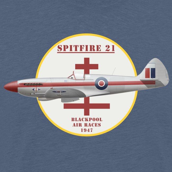 Spitfire 21 Blackpool Air Racer