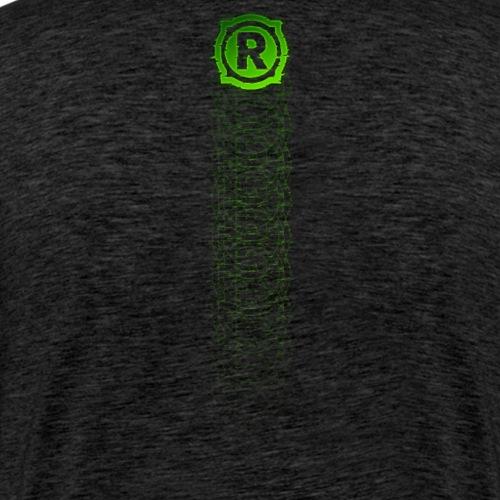 RyedTV Fadeaway Green - Männer Premium T-Shirt