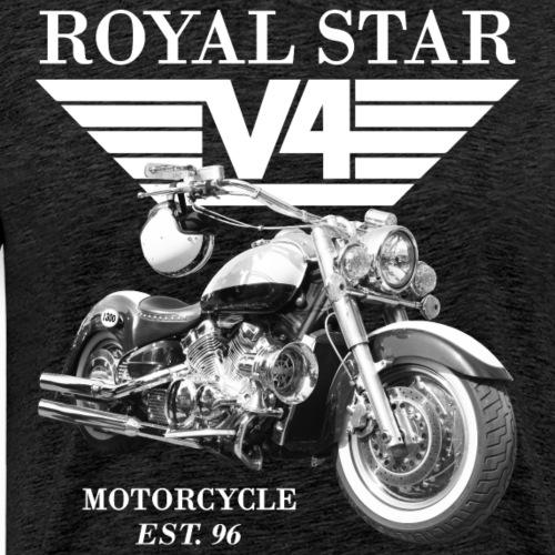 Royal Star Wings 3 weiss - Männer Premium T-Shirt