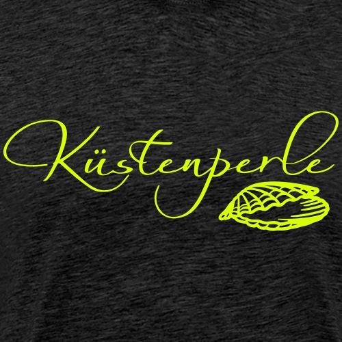 Küstenperle mit Muschel - Männer Premium T-Shirt