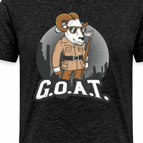 GOAT Goat - Men's Premium T-Shirt