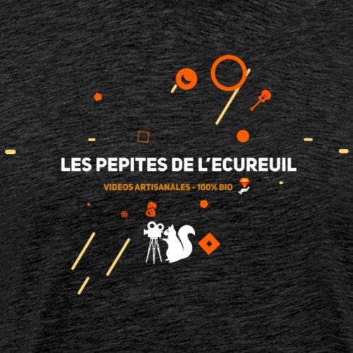Les pépites de l'écureuil ! Le vrai Logo ! - T-shirt Premium Homme