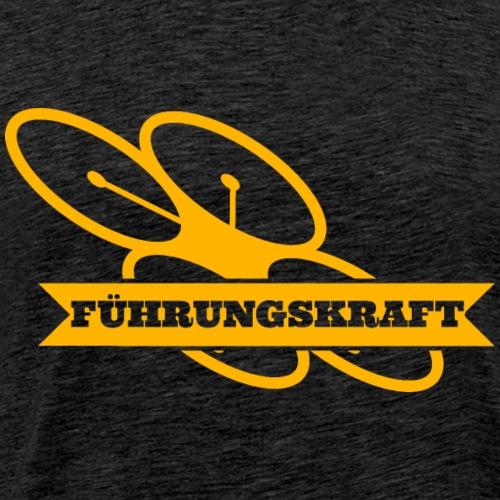 fuehrungskraft_drohne_g - Männer Premium T-Shirt