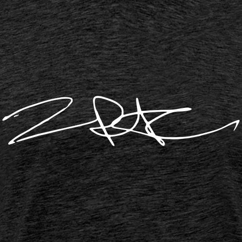 Tu pac Shakur Signature - Männer Premium T-Shirt