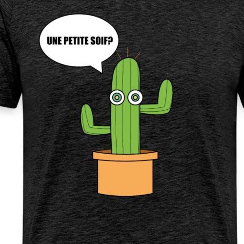 Le cactus aux yeux jaunes. - T-shirt Premium Homme