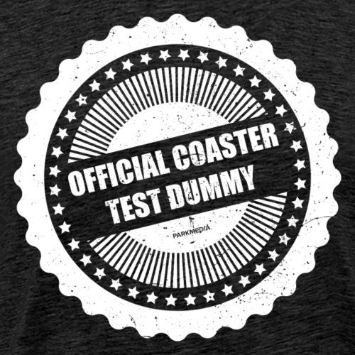 Mannequin officiel de test de montagnes russes - T-shirt Premium Homme