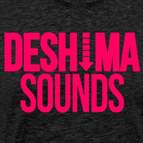 Pink png - Mannen Premium T-shirt